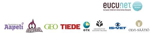 Lasten yliopiston yhteistyökumppaneiden logot