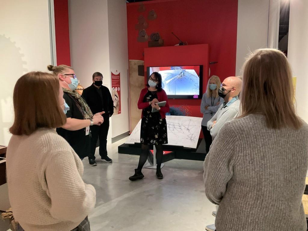 Phereclos-hankkeen yhteistyötä Kuopion museon, kaupungin kirjaston ja Itä-Suomen yliopiston kanssa.
